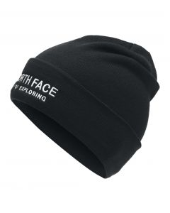 WIDE CUFF EMBROIDERED BEANIE