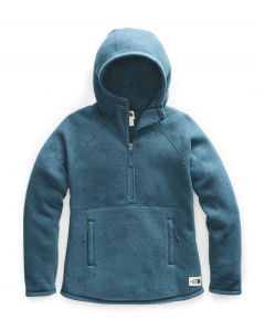 W CRESCENT HOODED PULLOVER