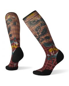 MEDIAS MUJER COMPRESSION SIGHTSEEING SUNFLOWER PRINT OTC