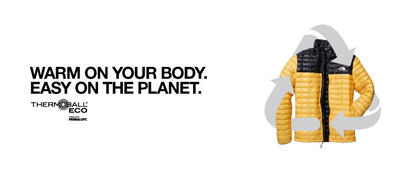 Thermoball Eco, una línea para contribuir con el medio ambiente