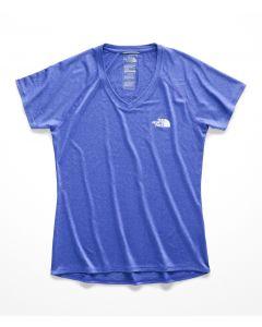 W S/S REAXION AMP V-NECK TEE - MUJER