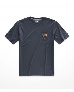 M S/S CAMPING NOTES POCKET TEE - HOMBRE