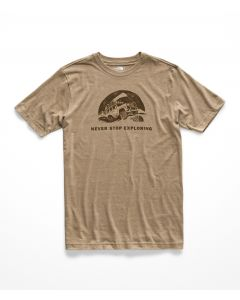 M S/S PONY WHEELS TRI-BLEND TEE - HOMBRE