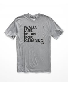 M S/S MEANT TO BE CLIMBED COTTON TEE - HOMBRE