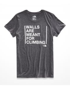 W S/S MEANT TO BE CLIMBED TRI-BLEND TEE - MUJER